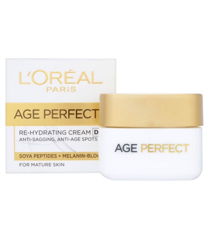 L'OREAL DERMO-EXPERTISE AGE PERFECT REINFORCING REHYDRATING DAY CREAM FOR MATURE SKIN 50 ML
