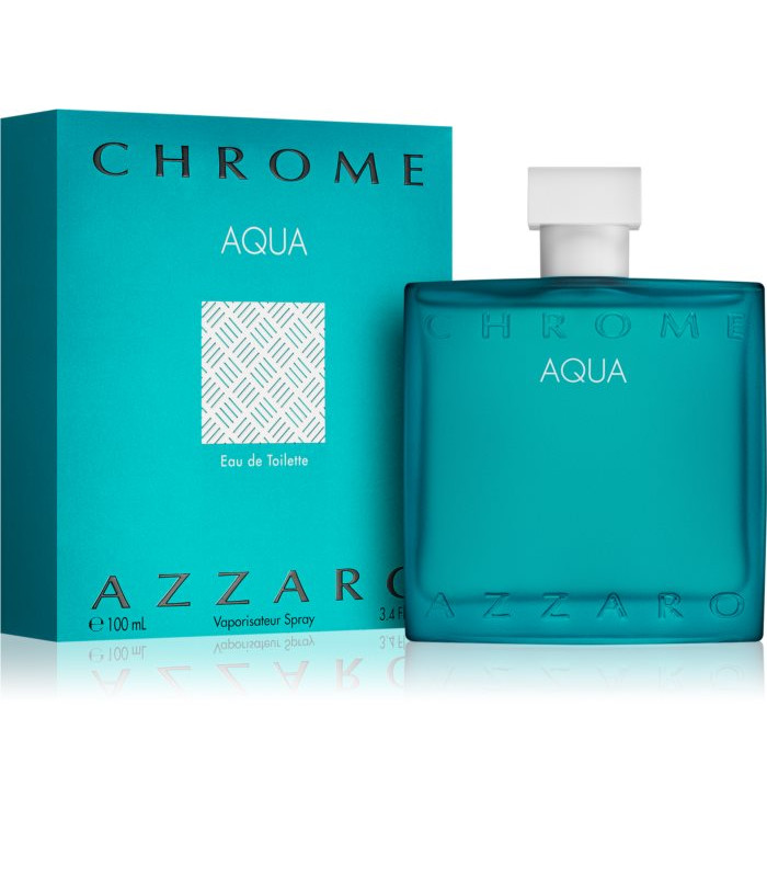 AZZARO CHROME AQUA EAU DE TOILETTE SPRAY
