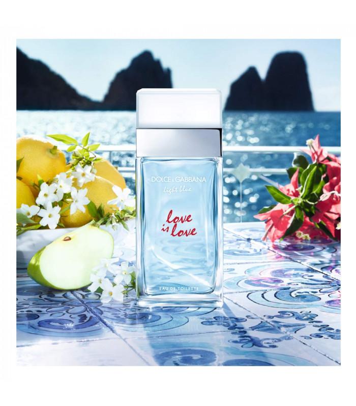 D&G LIGHT BLUE LOVE IS LOVE EAU DE TOILETTE VAPO