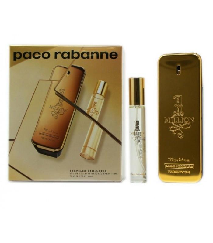 PACO RABANNE ONE MILLION EAU DE TOILETTE SPRAY 100 ML + TS20 19/20