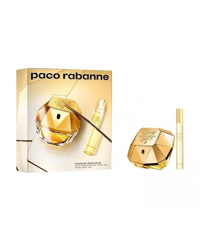 PACO RABANNE LADY MILLION EAU DE PARFUM SPRAY 80 ML + TS 20 ML SET 19/20