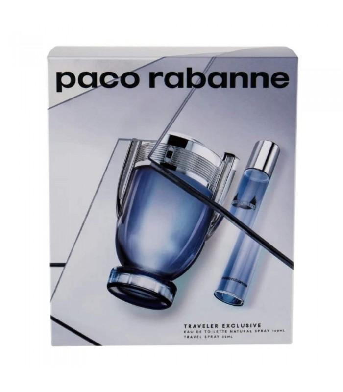 PACO RABANNE INVICTUS EAU DE TOILETTE SPRAY 100 ML + TS20 SET